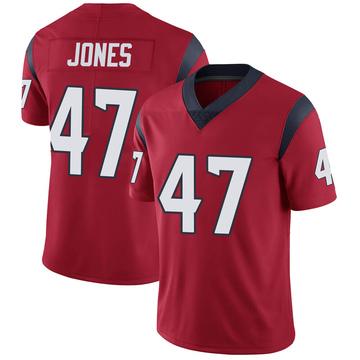 Youth Nike Houston Texans Jamir Jones Red Alternate Vapor Untouchable Jersey - Limited