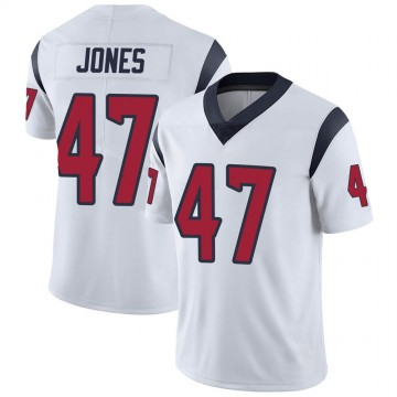 Youth Nike Houston Texans Jamir Jones White Vapor Untouchable Jersey - Limited