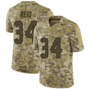 Youth Nike Houston Texans John Reid Camo 2018 Salute to Service Jersey - Limited