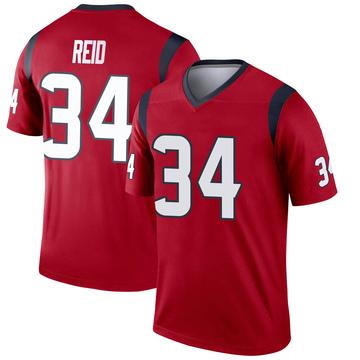 Youth Nike Houston Texans John Reid Red Jersey - Legend