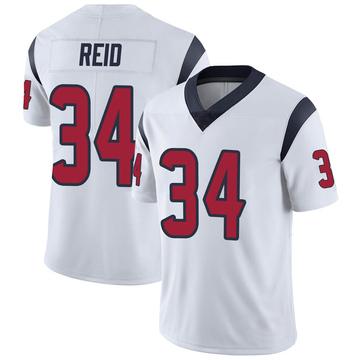 Youth Nike Houston Texans John Reid White Vapor Untouchable Jersey - Limited