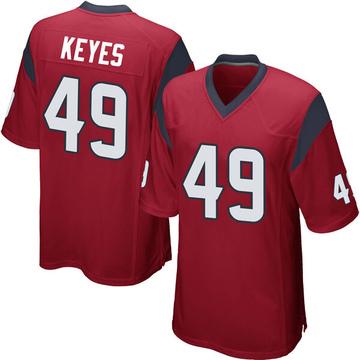 Youth Nike Houston Texans Josh Keyes Red Alternate Jersey - Game