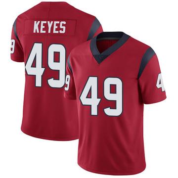 Youth Nike Houston Texans Josh Keyes Red Alternate Vapor Untouchable Jersey - Limited
