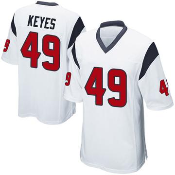 Youth Nike Houston Texans Josh Keyes White Jersey - Game