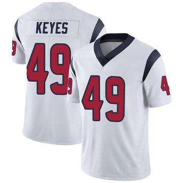Youth Nike Houston Texans Josh Keyes White Vapor Untouchable Jersey - Limited