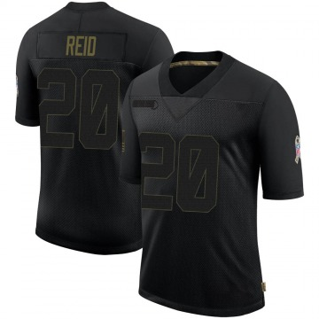 Youth Nike Houston Texans Justin Reid Black 2020 Salute To Service Jersey - Limited