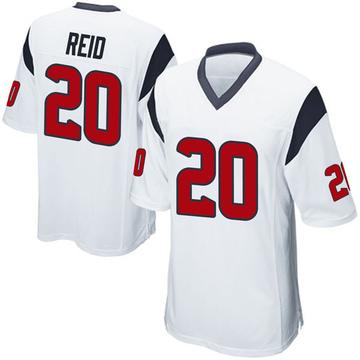 Youth Nike Houston Texans Justin Reid White Jersey - Game