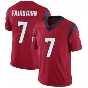 Youth Nike Houston Texans Ka'imi Fairbairn Red Alternate Vapor Untouchable Jersey - Limited