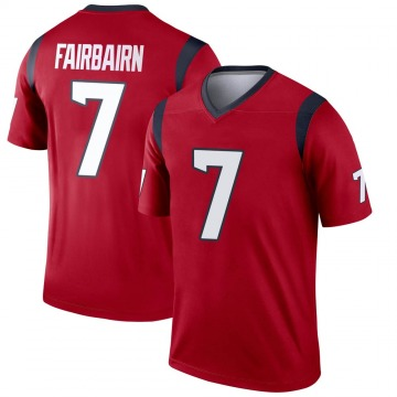 Youth Nike Houston Texans Ka'imi Fairbairn Red Jersey - Legend