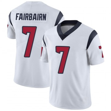 Youth Nike Houston Texans Ka'imi Fairbairn White Vapor Untouchable Jersey - Limited
