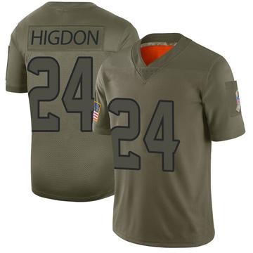 Youth Nike Houston Texans Karan Higdon Camo 2019 Salute to Service Jersey - Limited