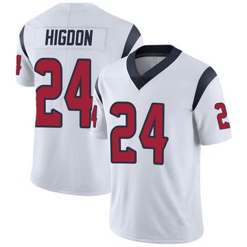 Youth Nike Houston Texans Karan Higdon White Vapor Untouchable Jersey - Limited