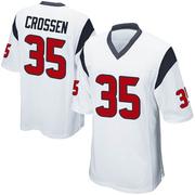 Youth Nike Houston Texans Keion Crossen White Jersey - Game