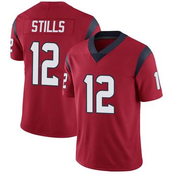 Youth Nike Houston Texans Kenny Stills Red Alternate Vapor Untouchable Jersey - Limited