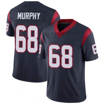 Youth Nike Houston Texans Kyle Murphy Navy 100th Vapor Jersey - Limited