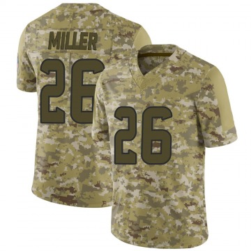 Youth Nike Houston Texans Lamar Miller Camo 2018 Salute to Service Jersey - Limited