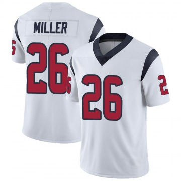 Youth Nike Houston Texans Lamar Miller White Vapor Untouchable Jersey - Limited