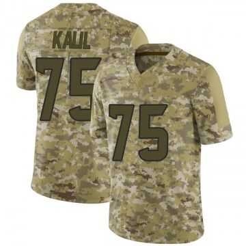 Youth Nike Houston Texans Matt Kalil Camo 2018 Salute to Service Jersey - Limited