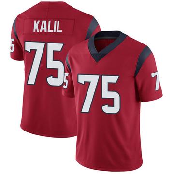 Youth Nike Houston Texans Matt Kalil Red Alternate Vapor Untouchable Jersey - Limited