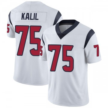 Youth Nike Houston Texans Matt Kalil White Vapor Untouchable Jersey - Limited