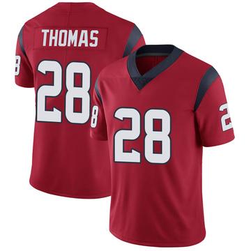 Youth Nike Houston Texans Michael Thomas Red Alternate Vapor Untouchable Jersey - Limited
