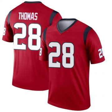 Youth Nike Houston Texans Michael Thomas Red Jersey - Legend