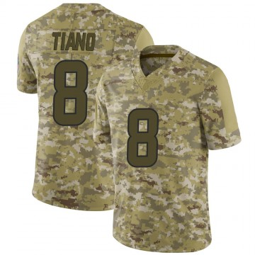 Youth Nike Houston Texans Nick Tiano Camo 2018 Salute to Service Jersey - Limited