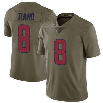 Youth Nike Houston Texans Nick Tiano Green 2017 Salute to Service Jersey - Limited