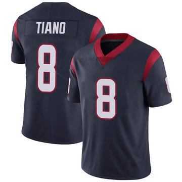 Youth Nike Houston Texans Nick Tiano Navy 100th Vapor Jersey - Limited