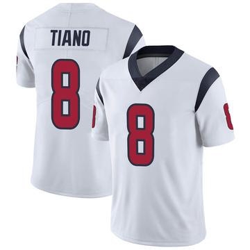 Youth Nike Houston Texans Nick Tiano White Vapor Untouchable Jersey - Limited