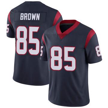 Youth Nike Houston Texans Pharaoh Brown Navy 100th Vapor Jersey - Limited