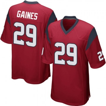 Youth Nike Houston Texans Phillip Gaines Red Alternate Jersey - Game