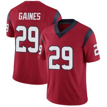 Youth Nike Houston Texans Phillip Gaines Red Alternate Vapor Untouchable Jersey - Limited