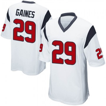 Youth Nike Houston Texans Phillip Gaines White Jersey - Game