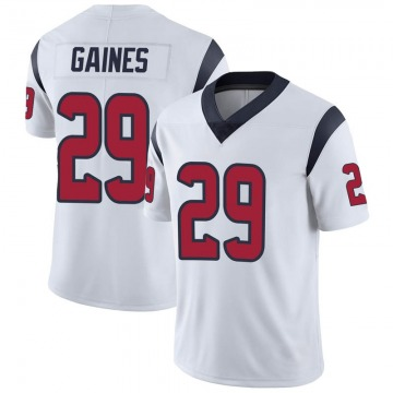 Youth Nike Houston Texans Phillip Gaines White Vapor Untouchable Jersey - Limited