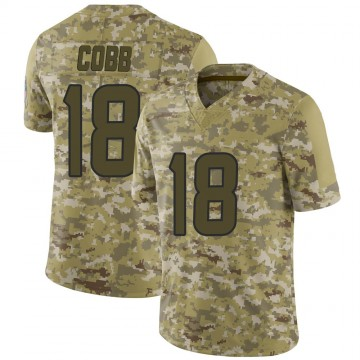 Youth Nike Houston Texans Randall Cobb Camo 2018 Salute to Service Jersey - Limited