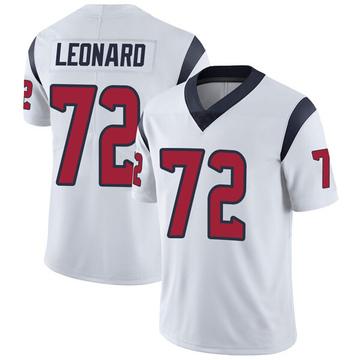 Youth Nike Houston Texans Rick Leonard White Vapor Untouchable Jersey - Limited