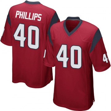 Youth Nike Houston Texans Scottie Phillips Red Alternate Jersey - Game