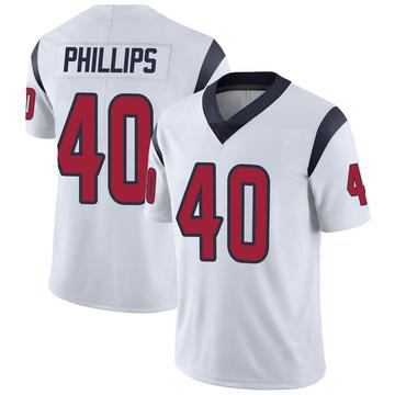Youth Nike Houston Texans Scottie Phillips White Vapor Untouchable Jersey - Limited