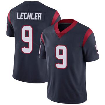 Youth Nike Houston Texans Shane Lechler Navy 100th Vapor Jersey - Limited