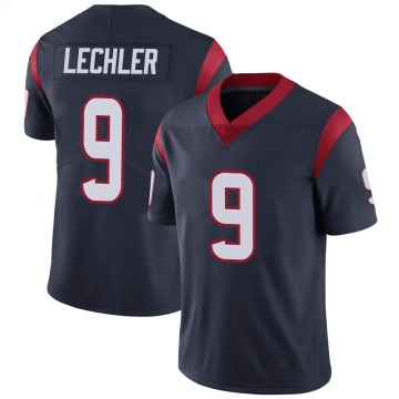 Youth Nike Houston Texans Shane Lechler Navy Blue Team Color Vapor Untouchable Jersey - Limited