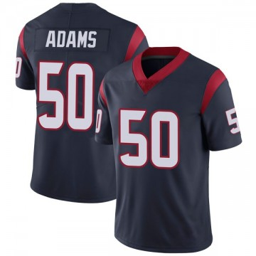 Youth Nike Houston Texans Tyrell Adams Navy Blue Team Color Vapor Untouchable Jersey - Limited