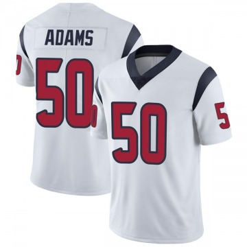 Youth Nike Houston Texans Tyrell Adams White Vapor Untouchable Jersey - Limited