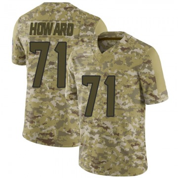 Youth Nike Houston Texans Tytus Howard Camo 2018 Salute to Service Jersey - Limited