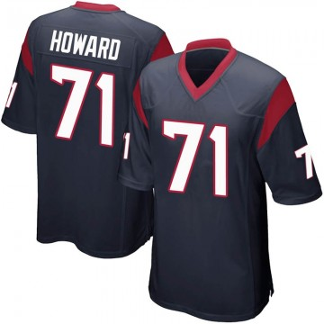 Youth Nike Houston Texans Tytus Howard Navy Blue Team Color Jersey - Game