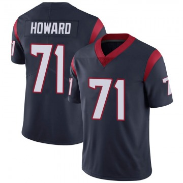 Youth Nike Houston Texans Tytus Howard Navy Blue Team Color Vapor Untouchable Jersey - Limited