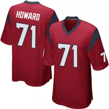 Youth Nike Houston Texans Tytus Howard Red Alternate Jersey - Game