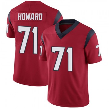 Youth Nike Houston Texans Tytus Howard Red Alternate Vapor Untouchable Jersey - Limited