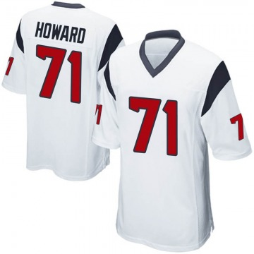 Youth Nike Houston Texans Tytus Howard White Jersey - Game