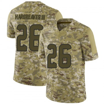 Youth Nike Houston Texans Vernon Hargreaves III Camo 2018 Salute to Service Jersey - Limited